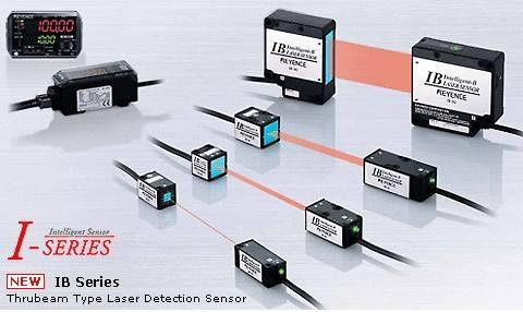 IB Thrubeam Type Laser Detection Sensor
