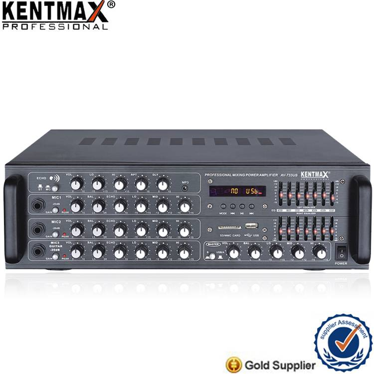 T 10 Best Selling Powerful Karaoke 250 Watt 180W Amplifier with USB