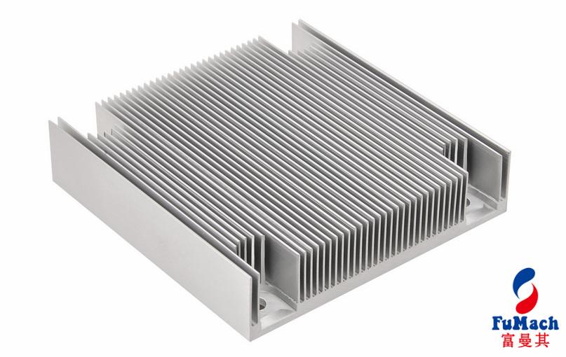 Silver-white / Bronze Solar Aluminum Profile with Mechnically Polishing