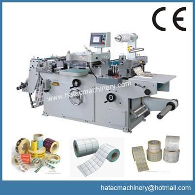 Adhesive Label Die Cutting Machine