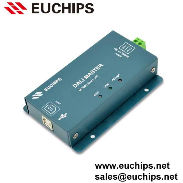 5VDC input 250mA 1 channel output LED DALI Driver DALI-100
