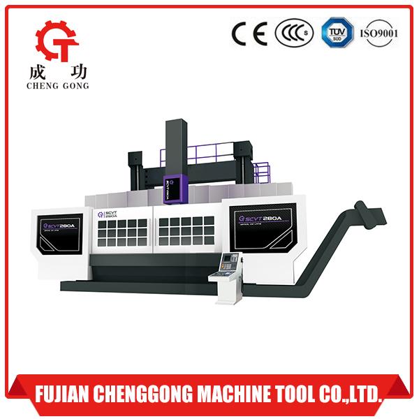 SCVT280A Double column CNC vertical lathe machine