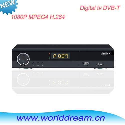DVB-T Digital TV Receiver with multimedia player