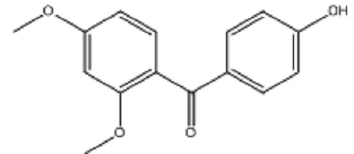 2,4-Dimethoxy-4'-hyroxybenzophenone