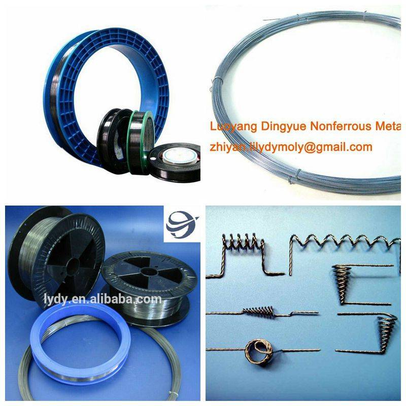 pure molybdenum wire filaments rope EDM wire cutting wire