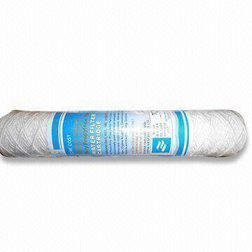 Water Cartridge Filters with 51mm Outer Diameter, Made of Cotton
