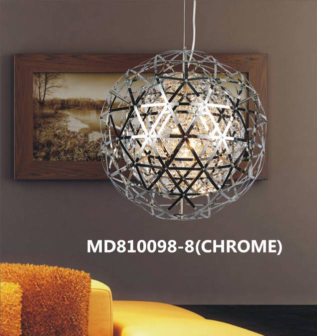 Chrome G4 Pendant Lamp