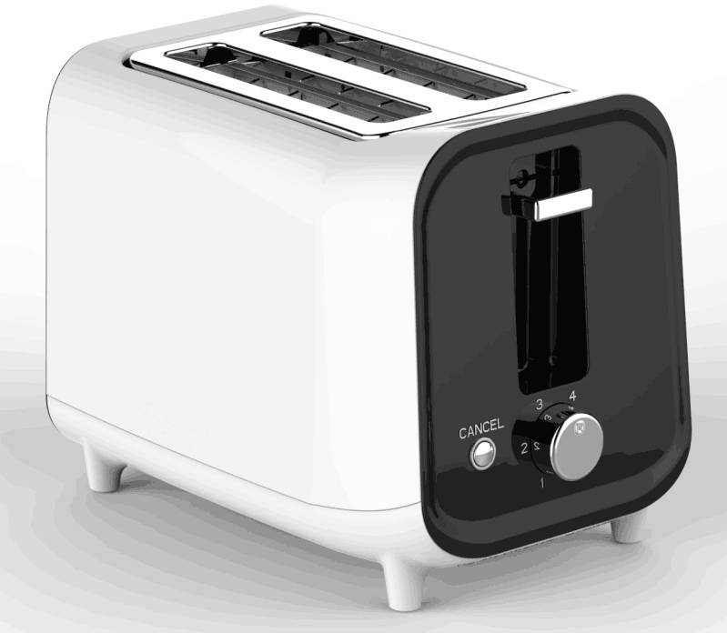 Timma Cool-Touch 2-Slice Toaster TM-2005