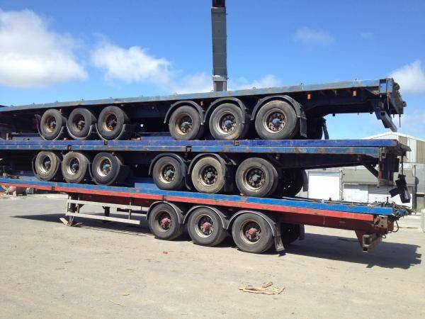 used 20ft and 40ft Trailers