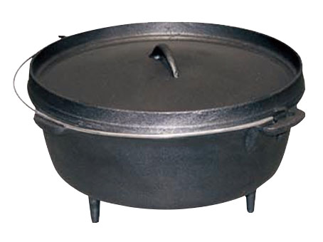 3 Legs Cast Iron Dutch Oven
