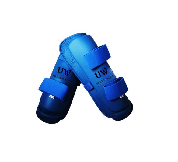 UWIN protectors of blue karate sport leg protector