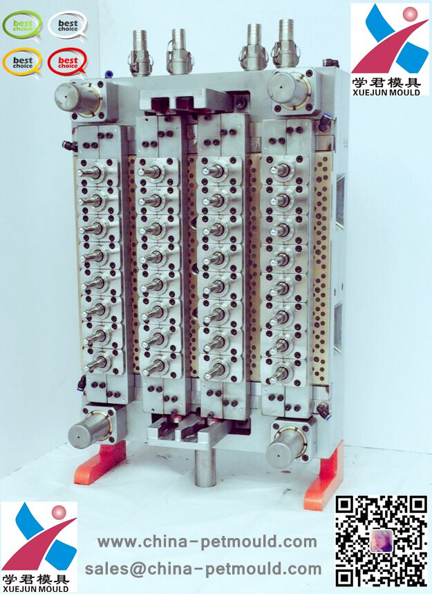 steel stainless pet preform mould