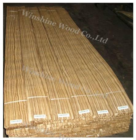 zebra wood veneer
