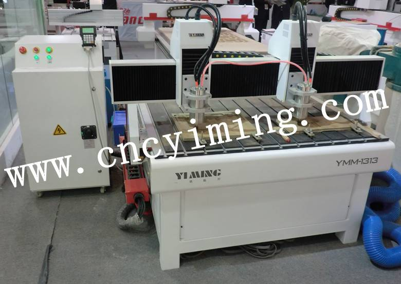 cnc drlling machine /wood cnc router1212 with two spindle