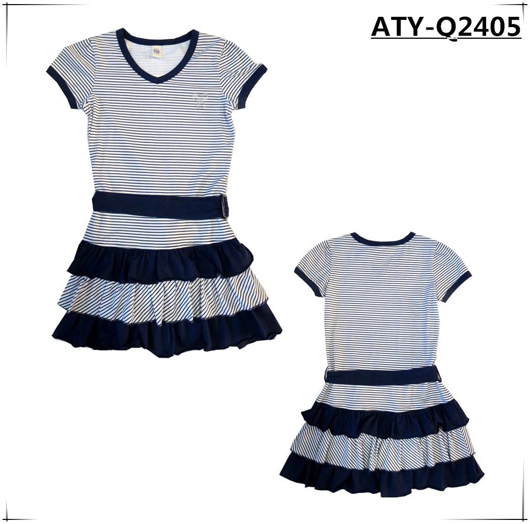 children's wear,kids girls Knitting dress