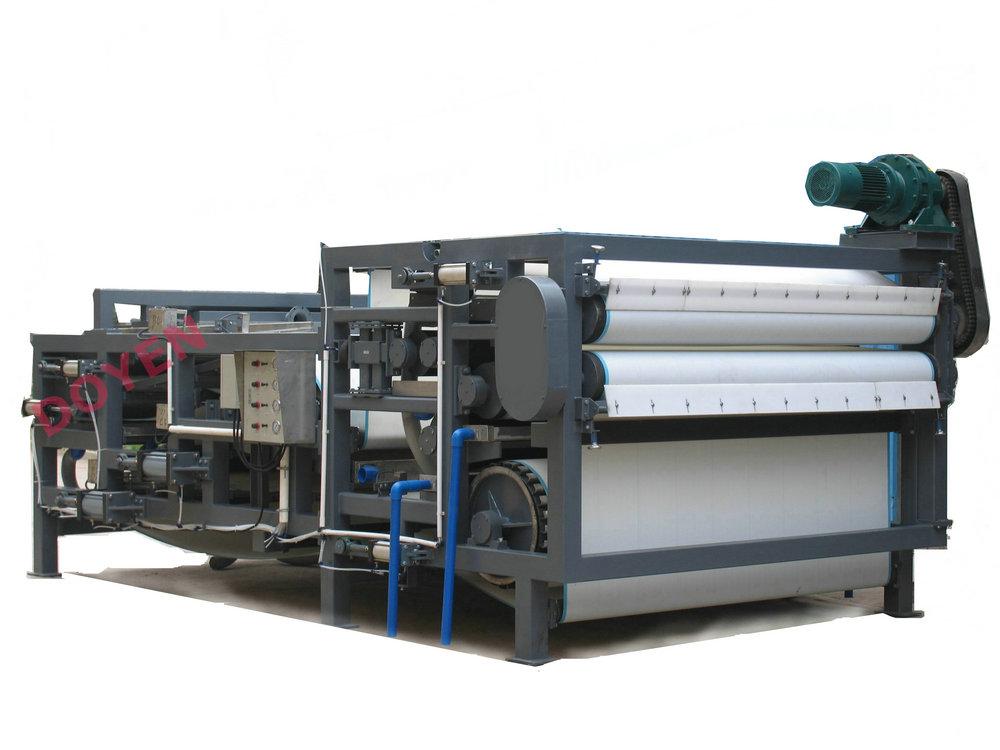 Latest design press for waste sludge treatment