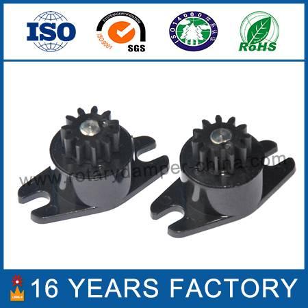 Uni-directional silicone oil damper