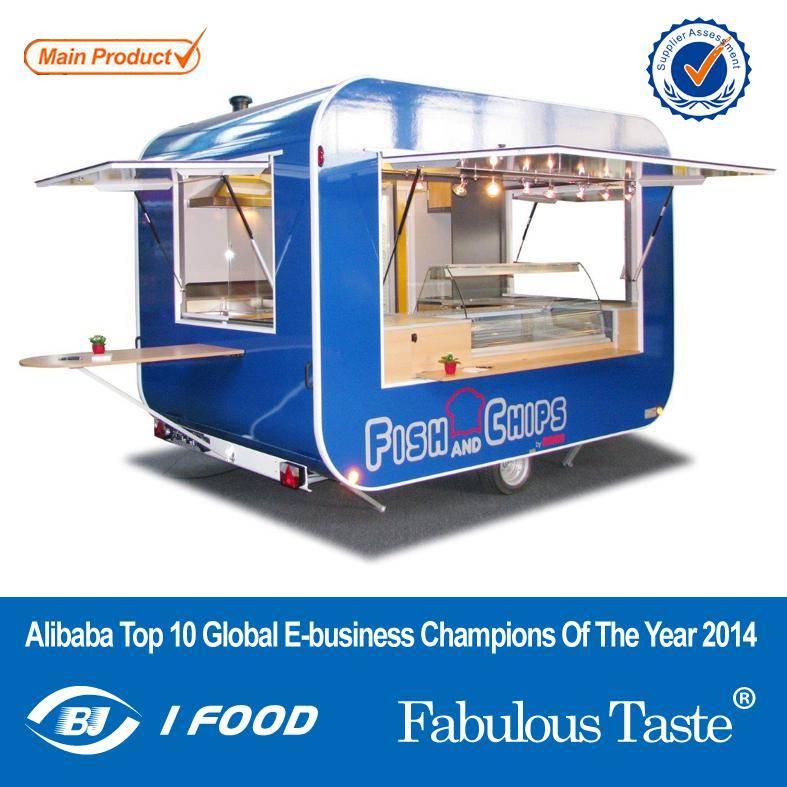 Mobile Kebab Food Cart Manufacturing