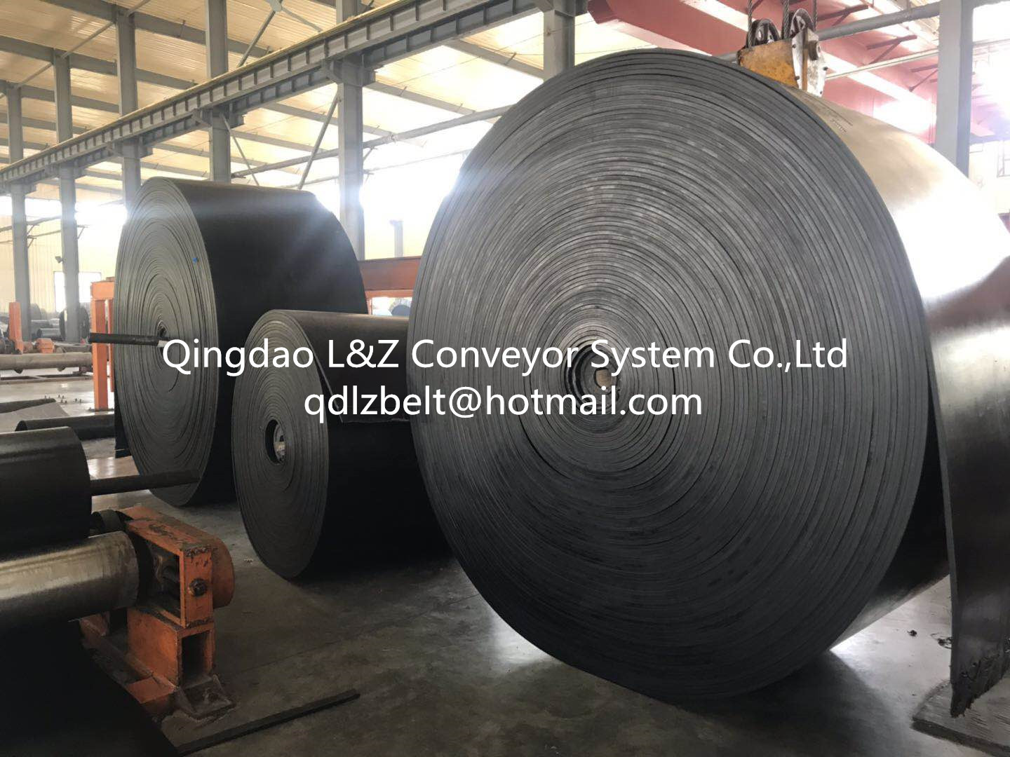 China new type high quality best selling rubber conveyor belt