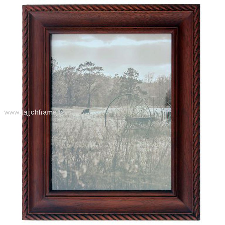 Twist Linear Home Décor Wooden Photo Frame