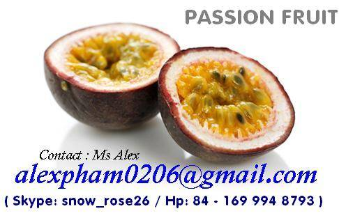 fresh passion fruit/ passion fruit pulp/ passion puree/ passion juice concentrated