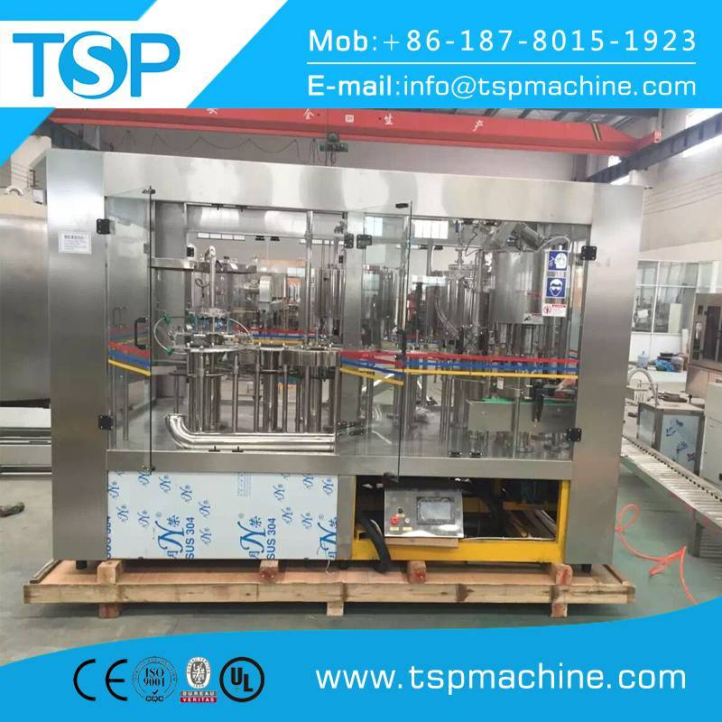 Juice filling sealing and packing machine production business plant process price China