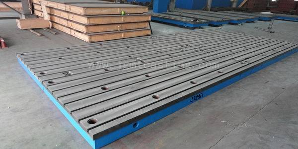 Cast Iron T-slot Floor Plate