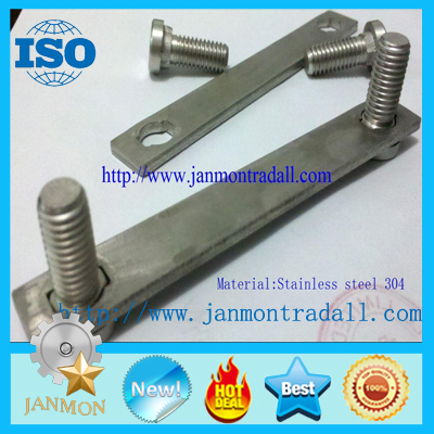 Stainless steel bolts,Stainless steel round head bolts,Stainless steel bolts with metal plates,Bolts