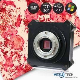 5Mp CCD Microscope Camera for Scientific Research