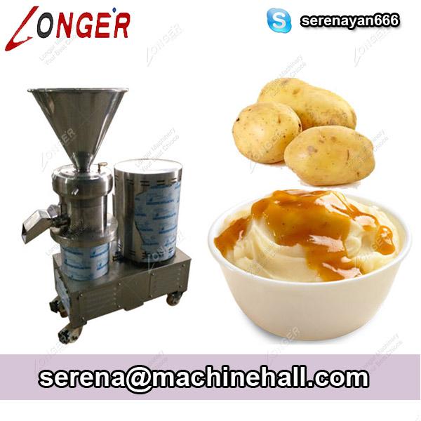 Mashed Potatoes Making Machine|Potatoes Paste Grinding Machine