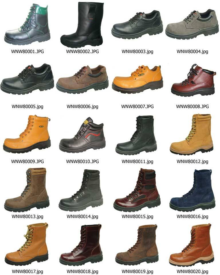 safety shoes (leather boots, work boots, safety boots, fashion boots, waterproof boots, working shoe