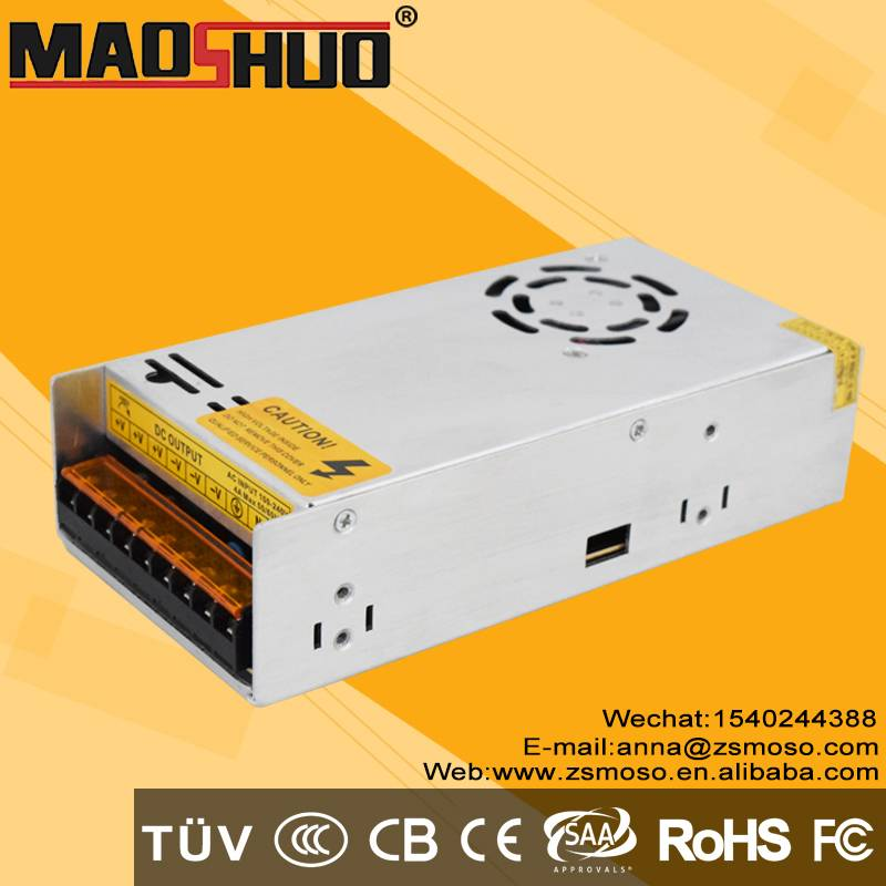 Professional Manufacturer CE RoHS IP20 Standard 360w 24v non waterproof Led Driver