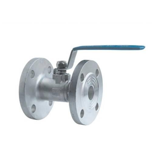 one piece flange ball valve