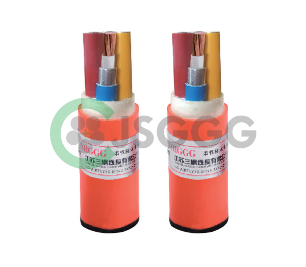 Synthetic mineral-insulated Metal sheath Copper Flexible Fire-proof power Cable