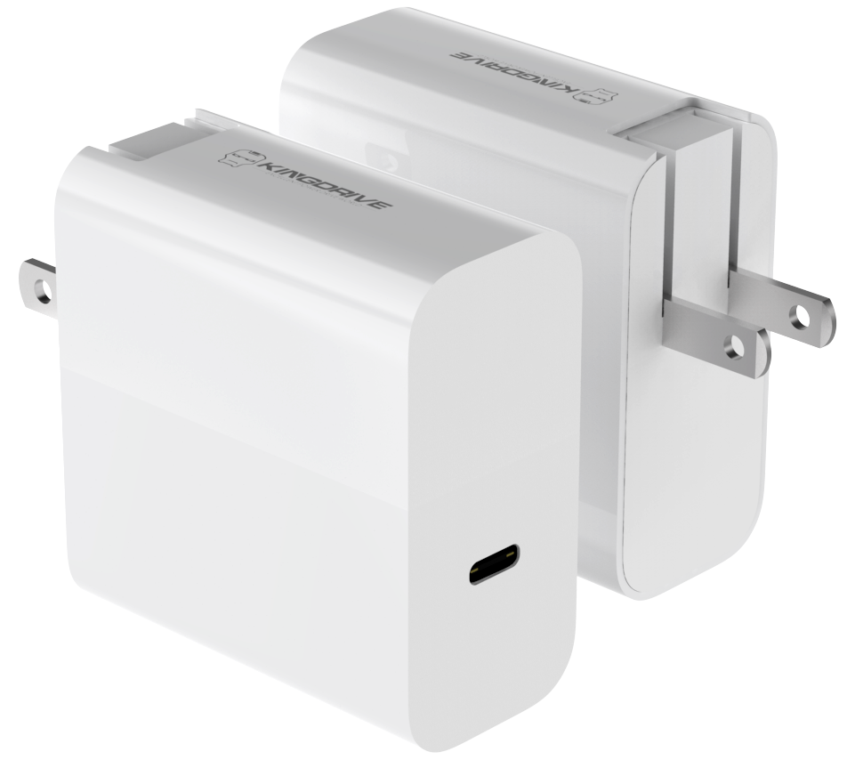 45w big power fast charging adapter wall charger with FCC CE ROSH
