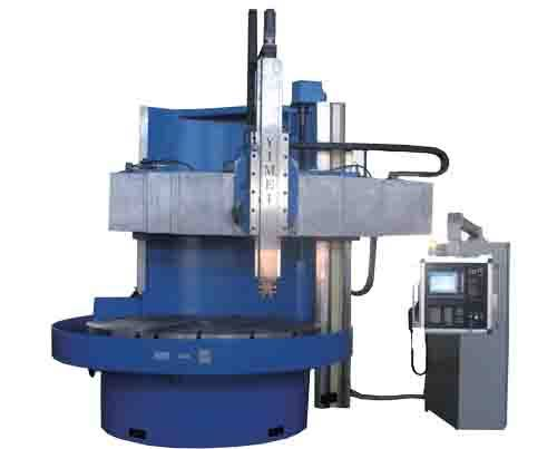 CNC single vertical lathe professional type