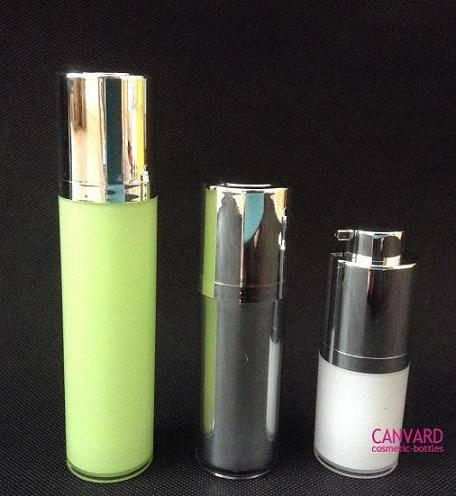 15ml,30ml, 50ml Screw up aluminium airless bottle, airless serum bottle, airless lotion bottle, airl