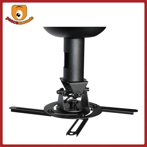 High Quality Easy Installation Full 360 degree rotation Projector Ceiling Wall Mount