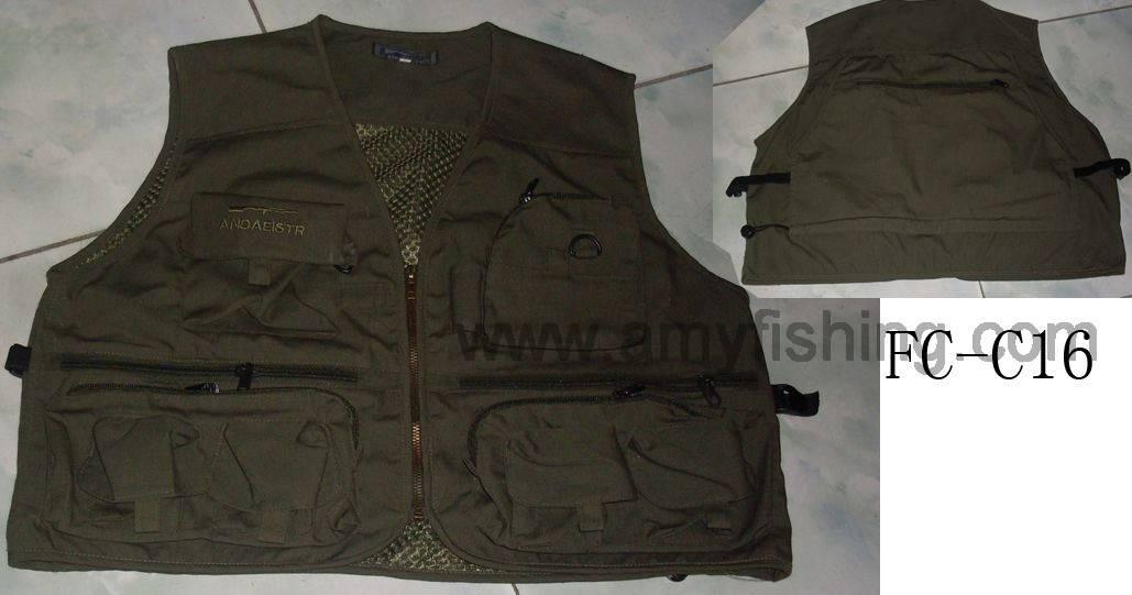 fishing wear, fishing vest, fishing cloth