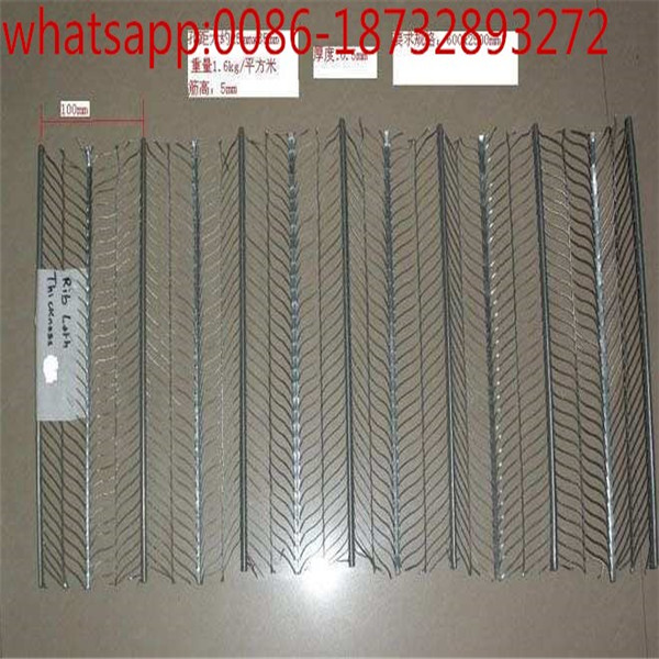 building material flat expanded metal rib lath for construction
