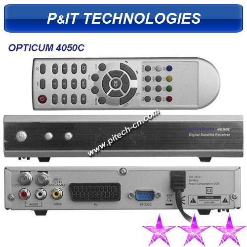 Opticum 4050C satellite receiver