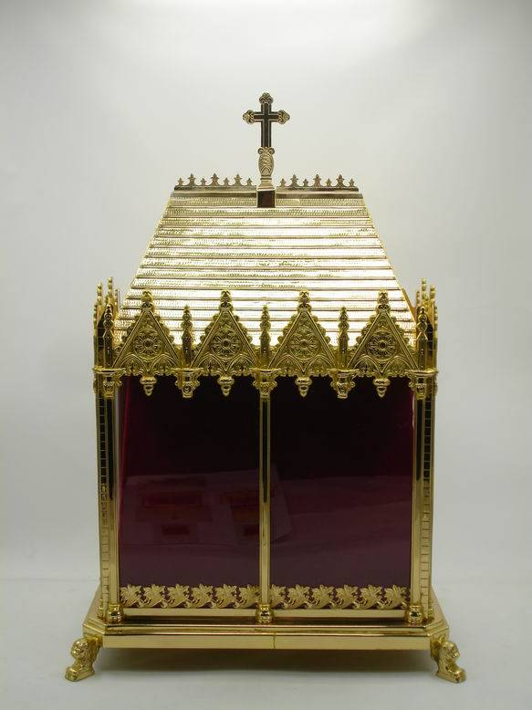 High Quality Brass Reliquary Excellent Monstrance Religious Articles X1-4