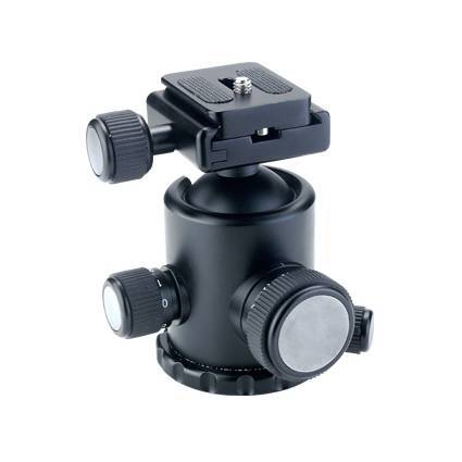 Hydraulic Ball Head with 92mm Height and 12kg Maximum Loading Capacity
