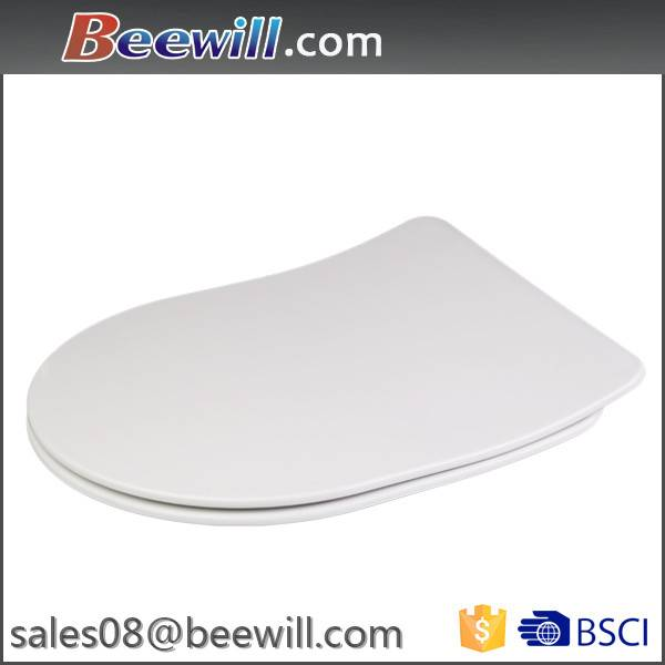D shape soft close duroplast toilet seats for most D shape toilet pan