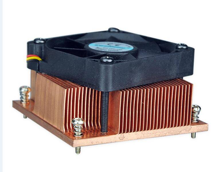 PM988/989 copper/Aluminum heat sink radiator with fan
