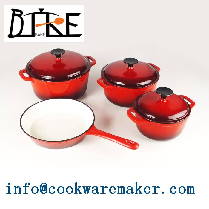 affordable good quality cast iron cookware set