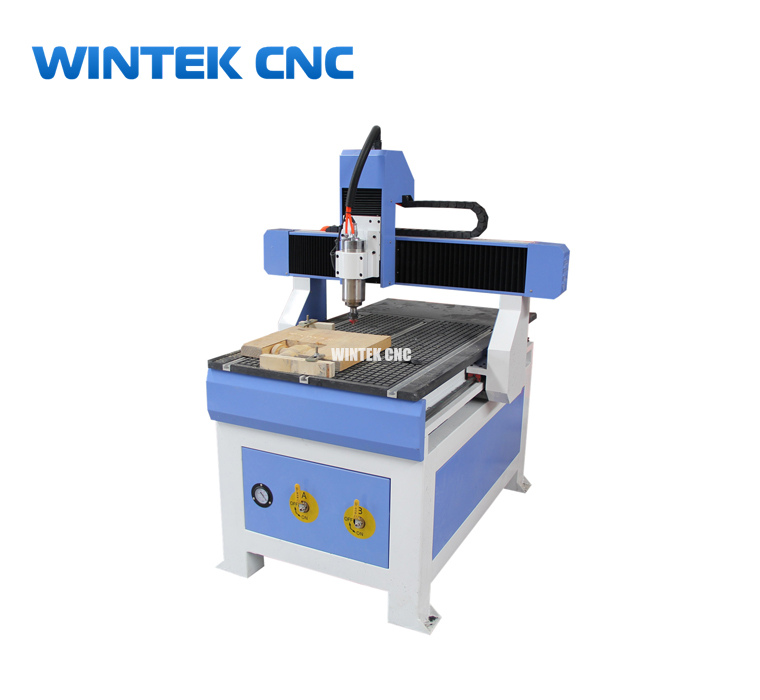 Hobby Tabletop 3 Axis 6090 Cnc Router Machine With 2.2kw And Vacuum Table