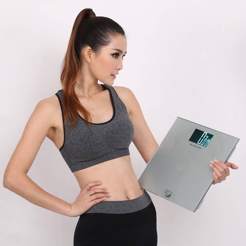 200kg Big Backlit Screen(88X55mm) Digital Body Health Scale