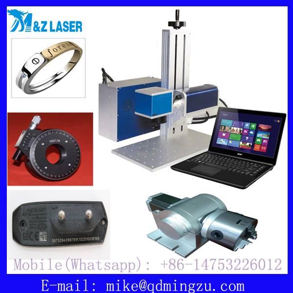 20W 30W Metal And Plastic Portable Fiber Laser Marker Machine/Laser Marking Machine for logo bar cod