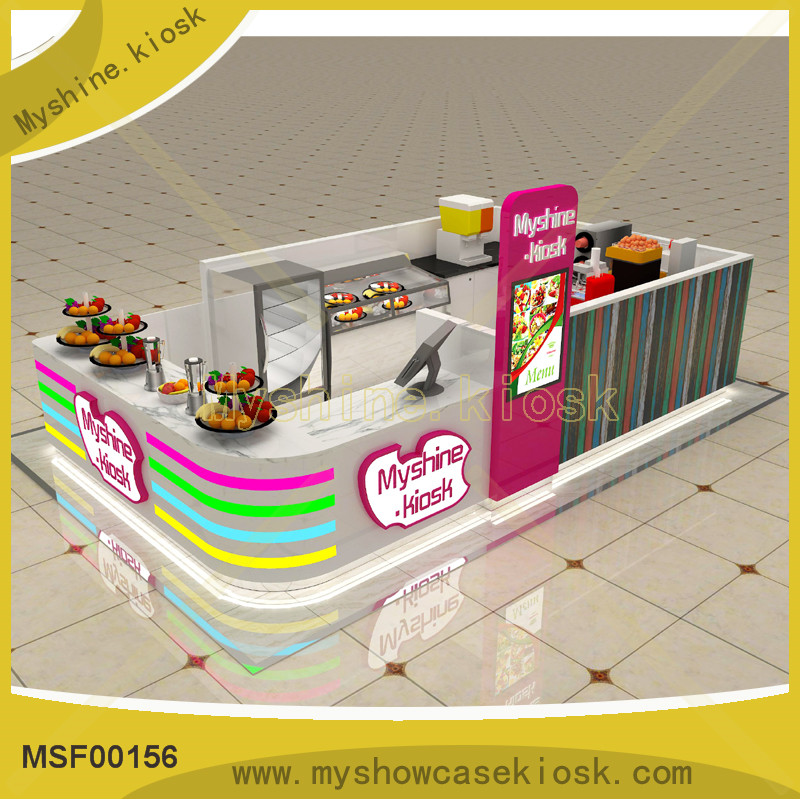 chic design mall food kiosk for sales
